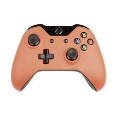 Custom Xbox One Controller Wireless Glossy  Beige Red
