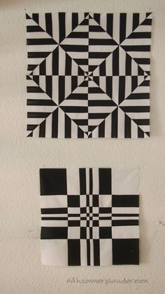 Excellent Absolutely Free Quilt Sewing patchwork Style Due to this stitch along with the particular Excess fat One fourth retail outlet My business is prod 3d Quilts, Barn Quilts, Geometric Quilt, Geometric Art, Op Art, Quilt Block Patterns, Quilt Blocks, Doodle Patterns, Crochet Patterns