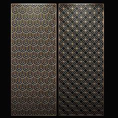 Laser Cut Panels, Laser Cut Metal, Wooden Screen, Metal Screen, Gate Design, Facade Design, Pattern Wall, Facade Pattern, Spa Interior Design
