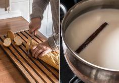 como hacer torrijas de leche Tapas, Vanilla, Milk, Cinnamon Sticks, How To Make, Kitchens, Winter, Pictures