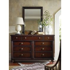 British Colonial 9 Drawer Dresser Has Your Spouse Taken Over Your Dresser We