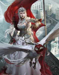 White Queen  by  OXAN (Legend of Cryptids)