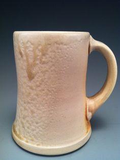 Wood Fired Mug, wheel thrown porcelain