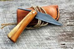 """This is an image of a knife with a broken handle. This knife would be similar to the one Tilman uses for carving basswood for the first time in a long time. This act shows how Tilman is still a carver and how he still have the passion to carve wood. Tilman carving again also proves his grandfather's belief that """"the world always somehow takes us back to the chisel."""" (pg 167) - Chris"""