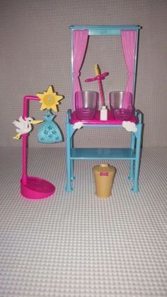 Barbie I Can Be A Newborn Baby Doctor Twins Stork Scale Play-set