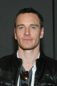 Michael Fassbender. This was from Comic-Con when he was there to promote Prometheus.