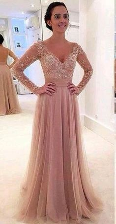 Beautiful beige-champagne dress gown.