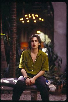 adelesgrace:Jeff Buckley and Rebecca Moore painted a poem ...