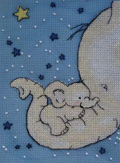 Cross Stitching, Cross Stitch Embroidery, Embroidery Patterns, Hand Embroidery, Elephant Cross Stitch, Cross Stitch Baby Blanket, Types Of Stitches, Chart Design, Cross Stitch Designs