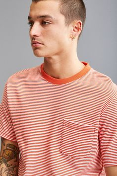 Shop UO Standard-Fit Feeder Stripe Tee at Urban Outfitters today. We carry all the latest styles, colors and brands for you to choose from right here.