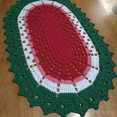 Crochet Placemats, Crochet Mat, Crochet Ripple, Crochet Table Runner, Crochet Home, Diy Crafts Crochet, Crochet Projects, Beginner Knitting Projects, Crochet Motif Patterns