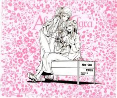#ClariS - Alice☆Clara CD jacket (inside)