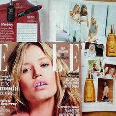 Moss at Elle Polska- January Issue
