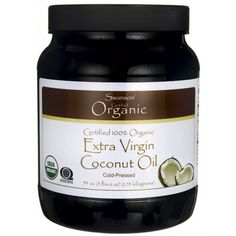 Swanson Certified Organic Flavor Free Coconut Oil 3 lb 6 oz kilograms) Solid Oil -- See this great product at Dinner recipes board Best Coconut Oil, Coconut Oil For Teeth, Coconut Oil Pulling, Cooking With Coconut Oil, Extra Virgin Coconut Oil, Coconut Oil Uses, Benefits Of Coconut Oil, Organic Coconut Oil, Organic Oil