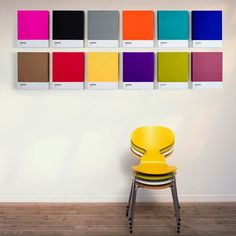 PANTONEart Classic by Artbrand - add some color to your walls. 30€ from Charles & Marie.