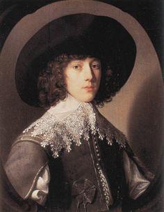 1640s Gerrit van Honthorst - Prince Rupert