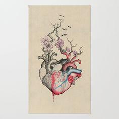 #home #rug #hearts #anatomical #love