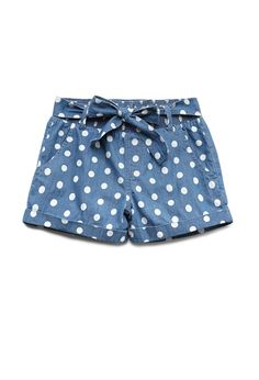 Darling Dots Chambray Shorts (Kids) from Forever Saved to Epic Wishlist. Shop more products from Forever 21 on Wanelo. Summer Outfits, Girl Outfits, Cute Outfits, Fashion Outfits, Kids Shorts, Cute Shorts, Look Short, Polka Dot Shorts, Polka Dots