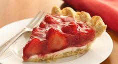 Strawberry pie goes French