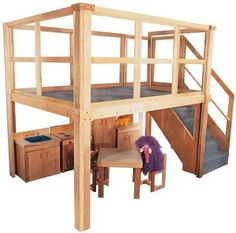 Reading Loft -School Age Navigator - School Furniture , School Classroom Furrniture, Preschool Daycare Furniture - Lofts and Playhouses Indoor Playhouse, Build A Playhouse, Classroom Furniture, Kids Furniture, Preschool Furniture, Furniture Design, Reading Loft, Preschool Rooms, Preschool Ideas