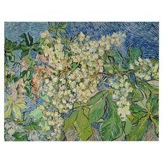 Blossoming Chestnut Branches by Van Gogh
