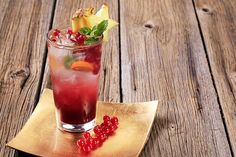 Baby Shower Mocktails- Pineapple And Cranberry Mocktail Recipes