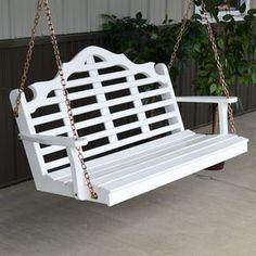 A&L Furniture Co. Marlboro White Swing Wooden - 371, 372, 373