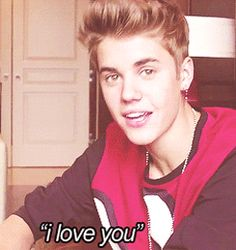 OMG I LOVE YOU TO JUSTIN DREW BIEBER <3 <3 <3 <3
