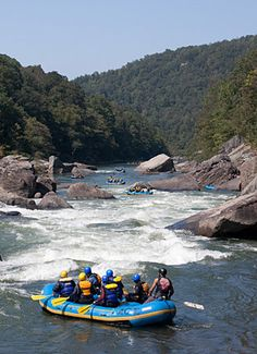 River Rafting in West Virginia - but I do not remember what river! ugh....