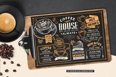 Impressive Tips and Tricks: Premium Coffee Packaging coffee menu frappe. Menu Restaurant, Restaurant Recipes, Food Menu Template, Menu Templates, Design Templates, Green Tea Coffee, Black Coffee, Coffee Chalkboard, Coffee Doodle