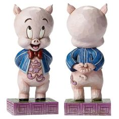 Looney Tunes Jim Shore Porky Pig Statue - Enesco - Looney Tunes - Statues at Entertainment Earth