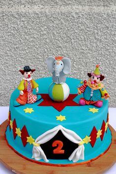 Circus Cake  abi  Zirkustorten Kindertorte y