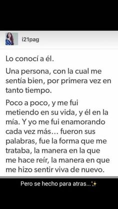 Att: mi six hermosa Frases Love, Stupid Love, Facebook Quotes, Love Phrases, Frases Tumblr, Sad Love Quotes, Magic Words, Love Messages, Spanish Quotes