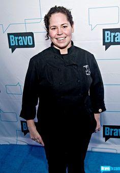"Stephanie Izard, chef winner  from Bravo's ""Top Chef"""