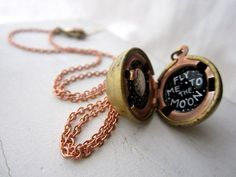 sweet little locket