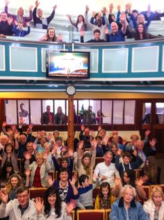 Church selfie! Easter 2015 at Fore Street Methodist, St Ives.
