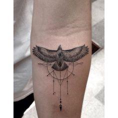 Animal spirit tattoo