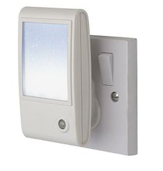 Firstlight Sparkle LED Plug-In Night Light. This White LED Night Light Has A Dusk To Dawn Photo Sensor And A Specially Designed Diffuser To Create An Attractive Sparkling Effect. The Firstlight Lighting 8372WH Sparkle LED Night Light Is Available From Luxury Lighting.