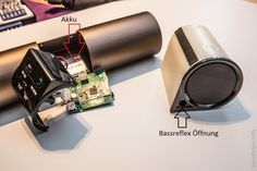 Produkt Test Bluetooth Lautsprecher Lugulake - zerlegt und für gut befunden.