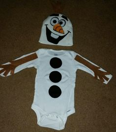 Olaf costume toddler