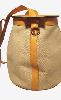 Hermès Beige And Camel Shoulder Bag