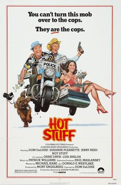 Hot Stuff (1979) Stars: Dom DeLuise, Suzanne Pleshette, Jerry Reed, Ossie Davis, Luis Avalos, Marc Lawrence, Bill McCutcheon ~ Director: Dom DeLuise Suzanne Pleshette, The Image Movie, Love Movie, Hd Streaming, Streaming Movies, Imdb Movies, Top Movies, Jerry Reed, Movie Theater