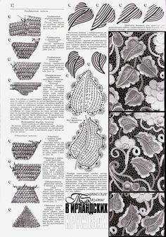 Irish crochet &: IRISH LACE DRESS ... ПЛАТЬЕ ИРЛАНДСКИМ КРУЖЕВОМ