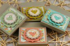 Goodies; Sale a bration 2014; Stampin up sommerkatalog 2014; Silvestergruß, Stanze kleines Herz; Stampin' Up; Stempel-biene; Scrapbooking; S...