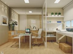 Decoração de consultório médico | Decoração e Projetos