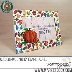 Spotlight On: Autumn/Fall at Stamping Bella