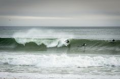 Surfing Nauset Beach by Convergence232