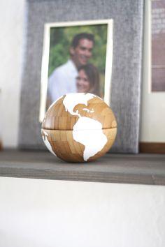 DIY Globe-made from Ikea bowls