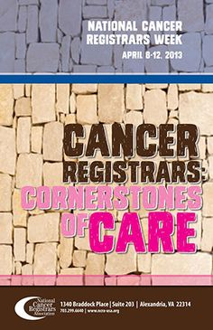 Celebrate 17th Annual National Cancer Registrars Week on ADVANCE for Health Information Professionals