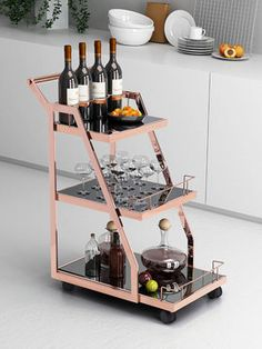Acropolis Serving Cart from Furniture Storage Solutions on Gilt